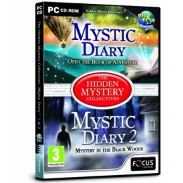 Mystic Diary 1 and 2 The Hidden Mystery Collectives Game PC
