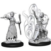 Dungeons & Dragons Nolzur's Marvelous Unpainted Miniatures - Female Human Warlock