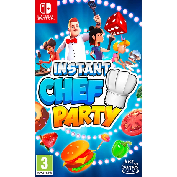 Instant Chef Party Nintendo Switch Game