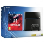 PlayStation 4 (500GB) Black Console with Drive Club