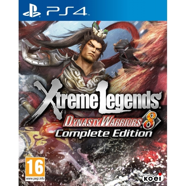 Dynasty Warriors 8 Xtreme Legends Complete Edition PS4 Game