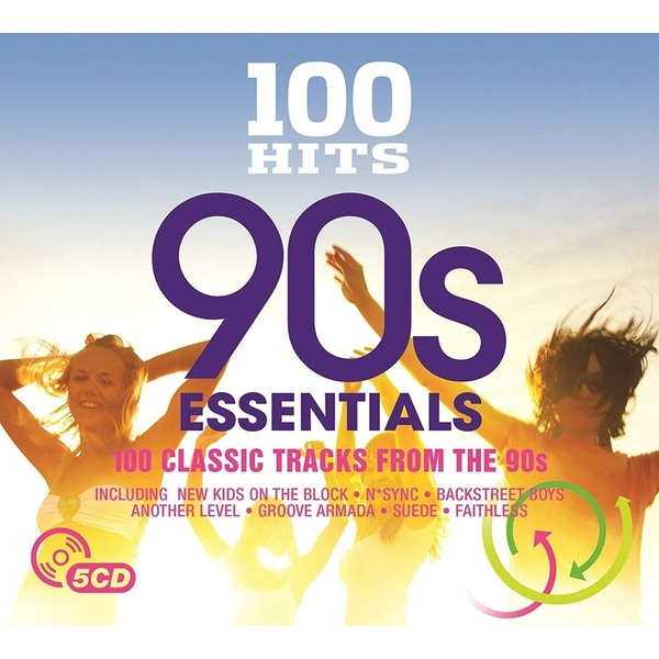 100 Hits - 90's Essentials CD