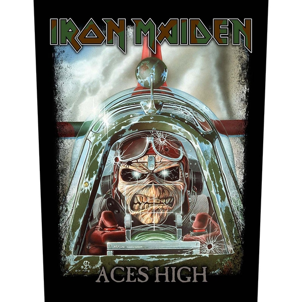 Iron Maiden - Aces High Back Patch