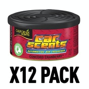 Concord Cranberry (Pack Of 12) California Car Scents