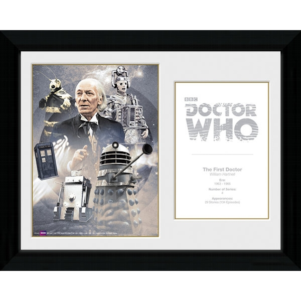 Doctor Who 1st Doctor William Hartnell Framed Photographic Print