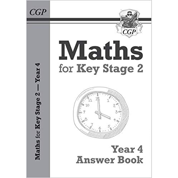 New KS2 Maths Answers for Year 4 Textbook by CGP Books (Paperback, 2017)