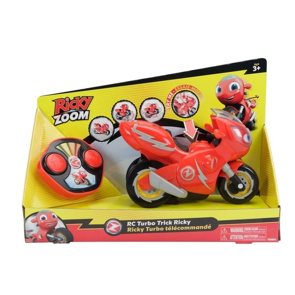 Ricky Zoom Turbo Trick Ricky Radio Controlled Toy
