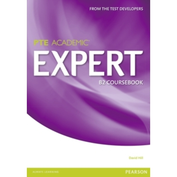 Expert Pearson Test of English Academic B2 Standalone Coursebook