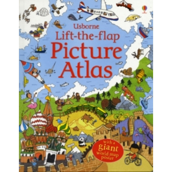 Lift-The-Flap Picture Atlas by Alex Frith (Hardback, 2008)