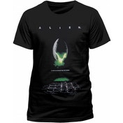 Alien - Poster Men's Small T-Shirt - Black