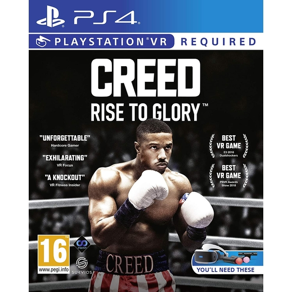 Creed Rise To Glory PS4 Game (PSVR Required)
