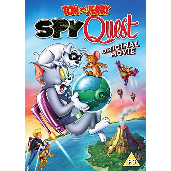 Tom & Jerry Spy Quest DVD