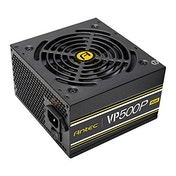 Antec 500W VP500P Plus PSU, Sleeve Bearing Fan, Single 12V Rail, Fully Wired, 80  White