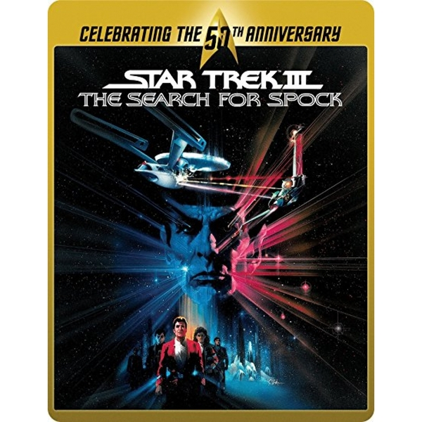 Star Trek 3 - The Search for Spock (Limited Edition 50th Anniversary Steelbook) Blu-ray