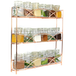 3 Tier Herb & Spice Rack | M&W Rose Gold - Image 2