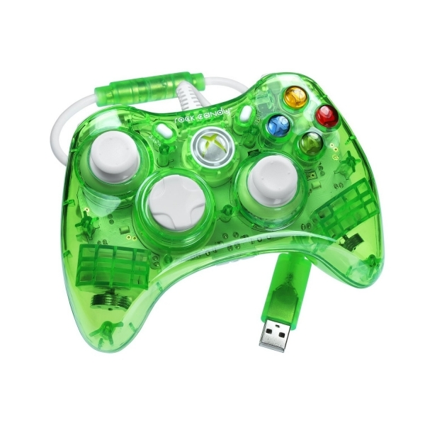 Officially Licensed Microsoft Rock Candy Controller Aqualime Xbox 360