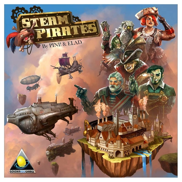 Steam Pirates Board Game