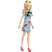 Barbie Fashionista Doll - Teal Floral Dress