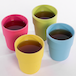 Bamboo Fibre Tableware Bamboo Fibre Cups - Set of 4 | M&W - Image 3
