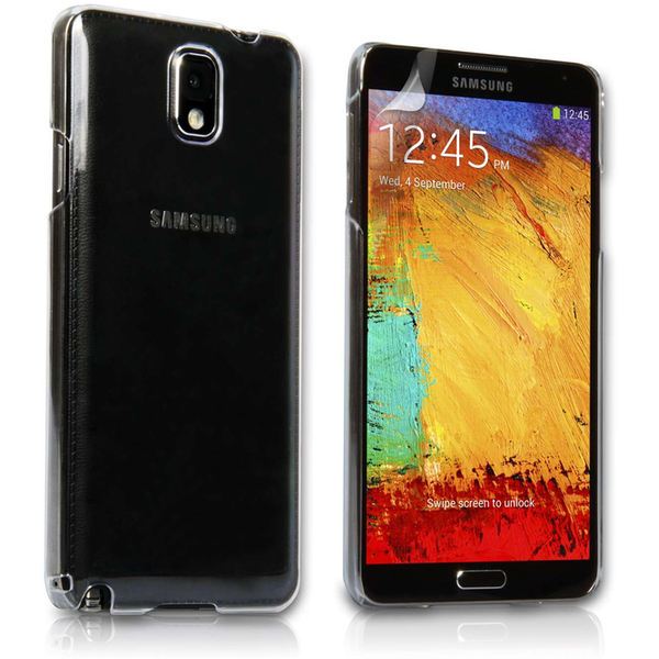 online retailer 31c31 3633d Yousave Samsung Galaxy Note 3 Hard Case - Crystal Clear - 365games.co.uk