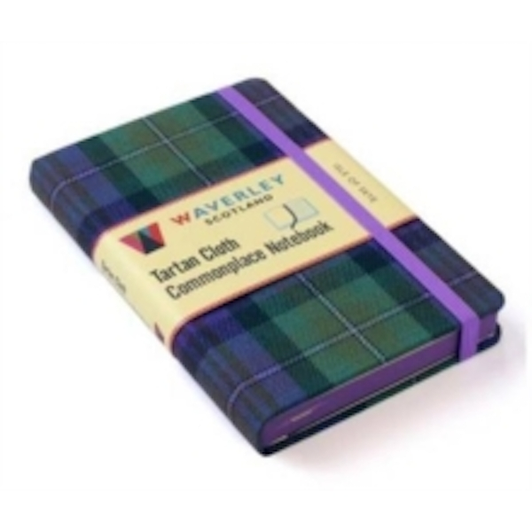 Isle of Skye: Waverley Genuine Tartan Cloth Commonplace Notebook (9cm x 14cm) by Waverley Books (Hardback, 2016)