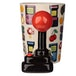 Gaming Joystick Shaped Handle Mug with Pixel Decal - Image 3