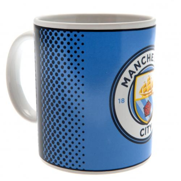 Manchester City FC Dotted Mug