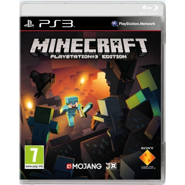 Minecraft PS3 Game