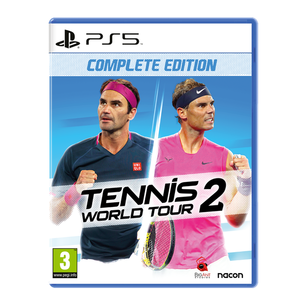Tennis World Tour 2 PS5 Game