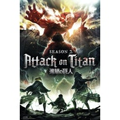 Attack On Titan Season 2 Key Art Maxi Poster