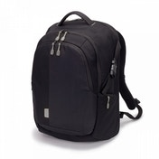 Dicota 14 - 15.6inch Laptop Backpack Removable Notebook Case & Rain Cover Black