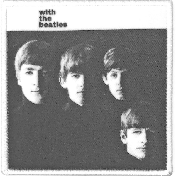 The Beatles - With the Beatles Album Cover Standard Patch