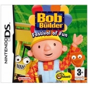 Ex-Display Bob The Builder Festival Of Fun Game DS Used - Like New