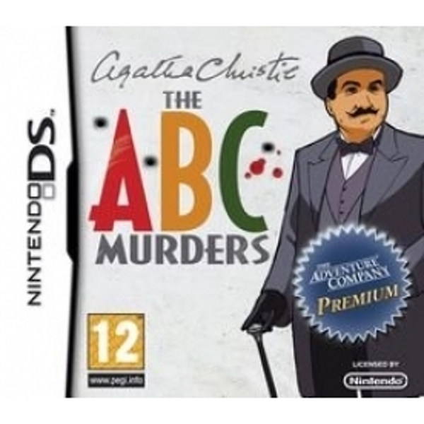 Ex-Display Agatha Christie The ABC Murders Game DS Used - Like New