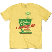 Dead Kennedys - Holiday in Cambodia Men's X-Large T-Shirt - Daisy Yellow