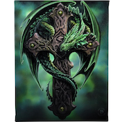 Small Woodland Guardian Canvas Picture by Anne Stokes