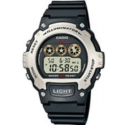 Casio W214H/1A Illuminator Sports Digital Chrongraph Watch