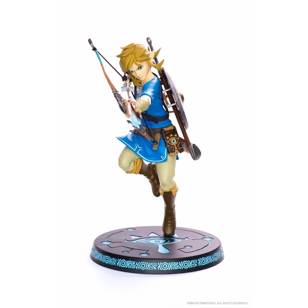 Link (The Legend Of Zelda: Breath of the Wild) 25cm PVC Statue - Image 1