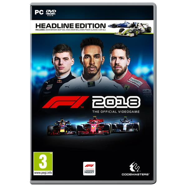 F1 2018 Headline Edition PC Game