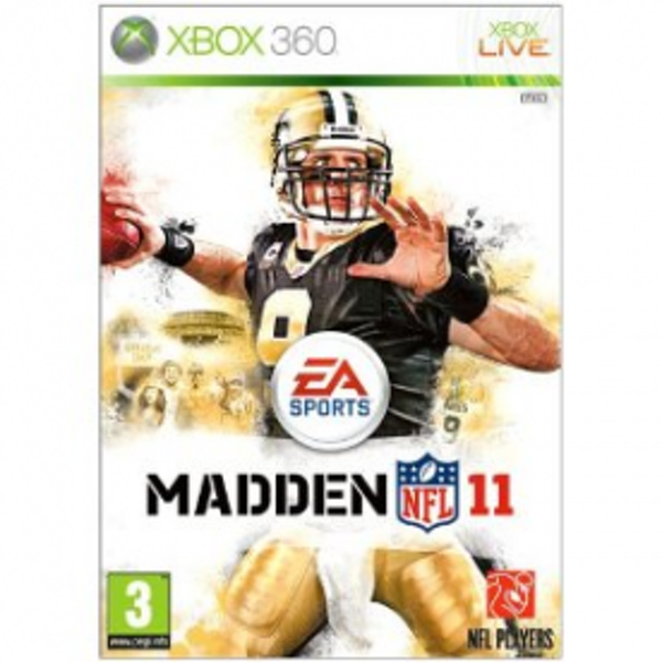 Madden NFL 11 Game Xbox 360