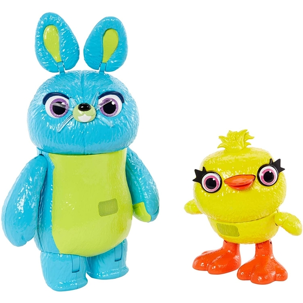 Toy Story 4 - Bunny & Ducky Interactive 7 Inch Figures