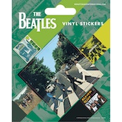 The Beatles - Abbey Road Vinyl Sticker