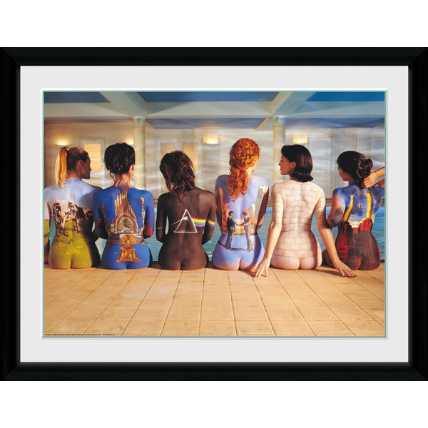 """Pink Floyd Back Catalogue 12"""" x 16"""" Collector Print"""