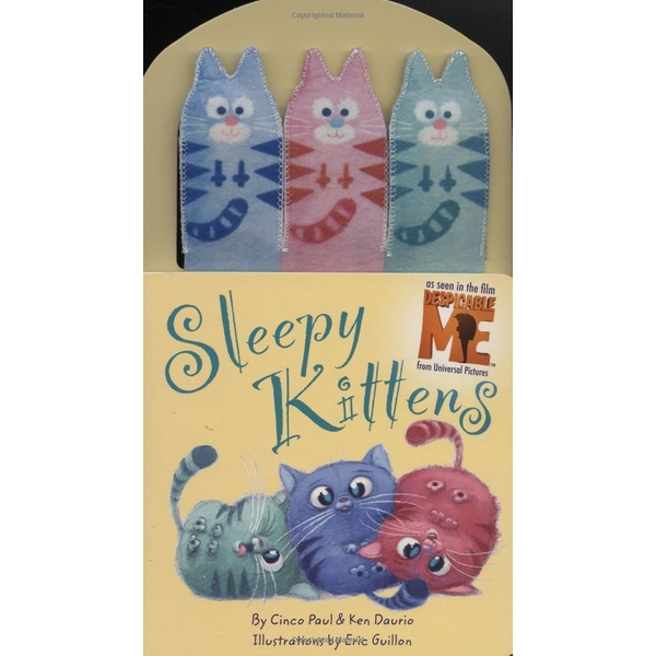 Sleepy Kittens (Despicable Me) Board book - 2 Sept. 2010