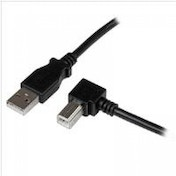 StarTech 3m USB 2.0 A to Right Angle B Cable - M/M