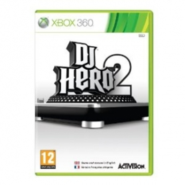 Ex-Display DJ Hero 2 Solus Game Xbox 360 Used - Like New - Image 1