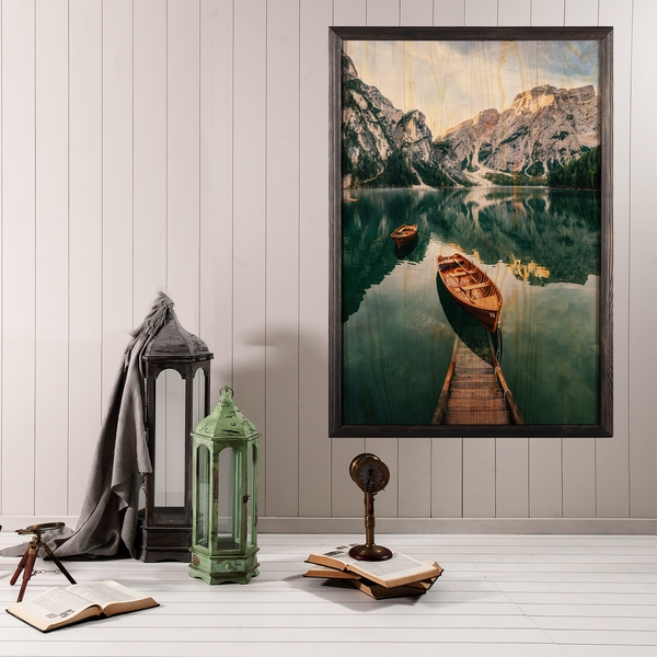 Serenity Multicolor Decorative Framed Wooden Painting