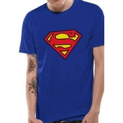 Superman Logo DC Essentials Range T-Shirt XX-Large - Blue