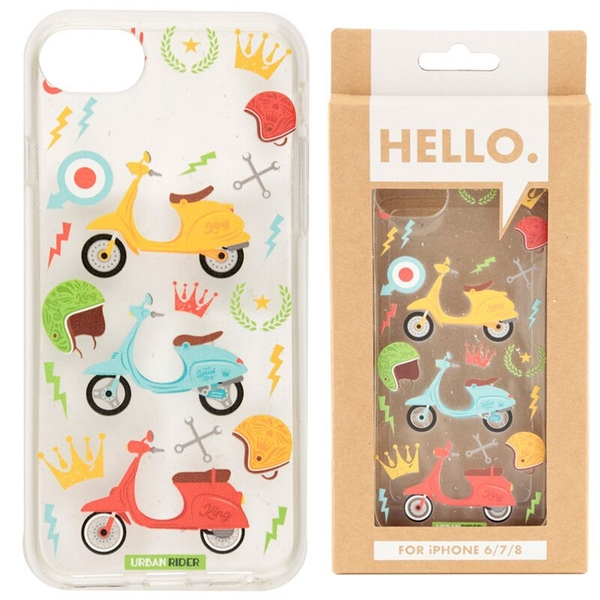 Retro Scooter Design iPhone 6/7/8 Phone Case