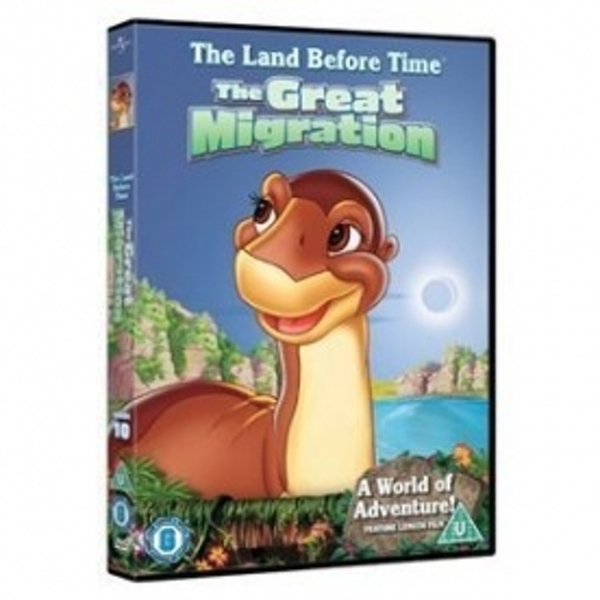 The Land Before Time Series 10: The Great Longneck Migration DVD